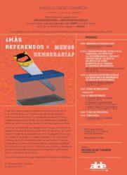 ¿Más referendos = menos democracia?